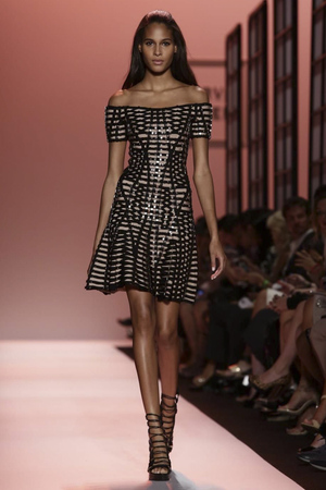 Herve Leger By Max Azria Ready to Wear Spring Summer 2015 in New York